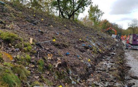 Embankment Stabilisation using Soil Nailing