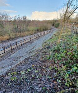 Bridgewater Canal embankment stabilisation 3