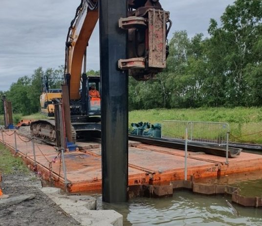 STEM Construction completes Overflow Let-off Chamber on Bridgewater Canal