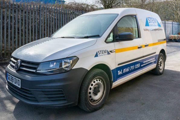 New Livery for STEM Vehicle Fleet