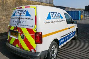 STEM Construction Fleet Livery