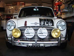 Classic Mini front view